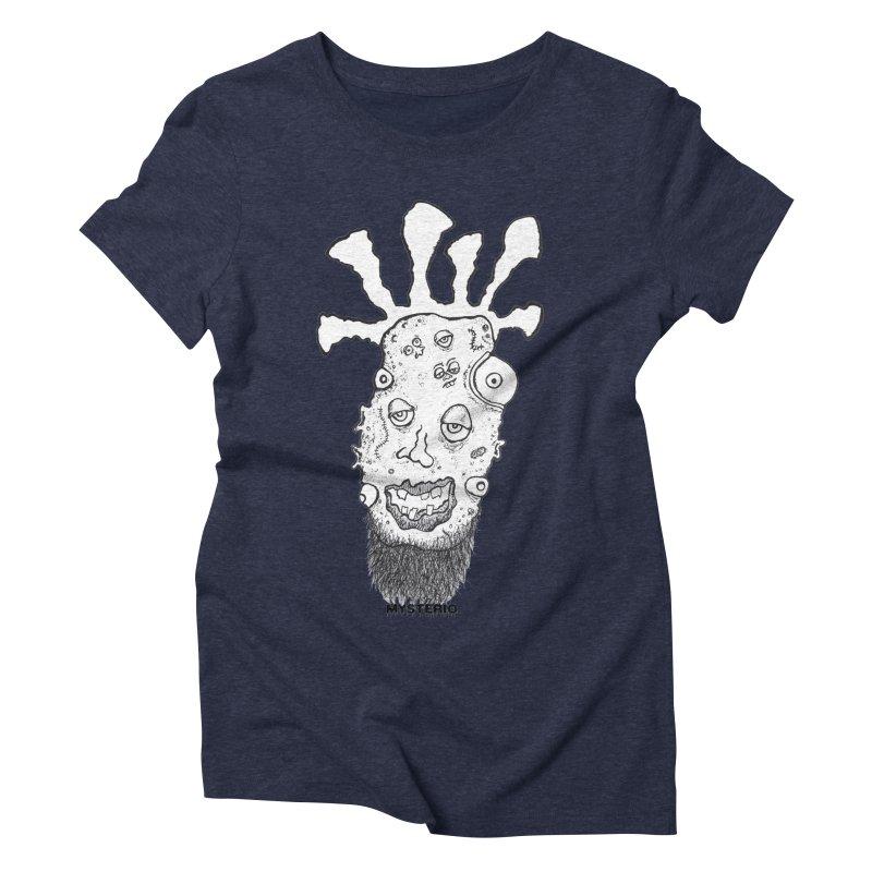 Hipster Jimi Women's Triblend T-Shirt by Baston's T-Shirt Emporium!