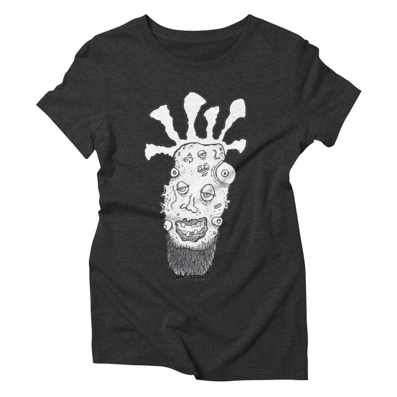 Hipster Jimi Women's Triblend T-shirt by Baston's T-Shirt Emporium!