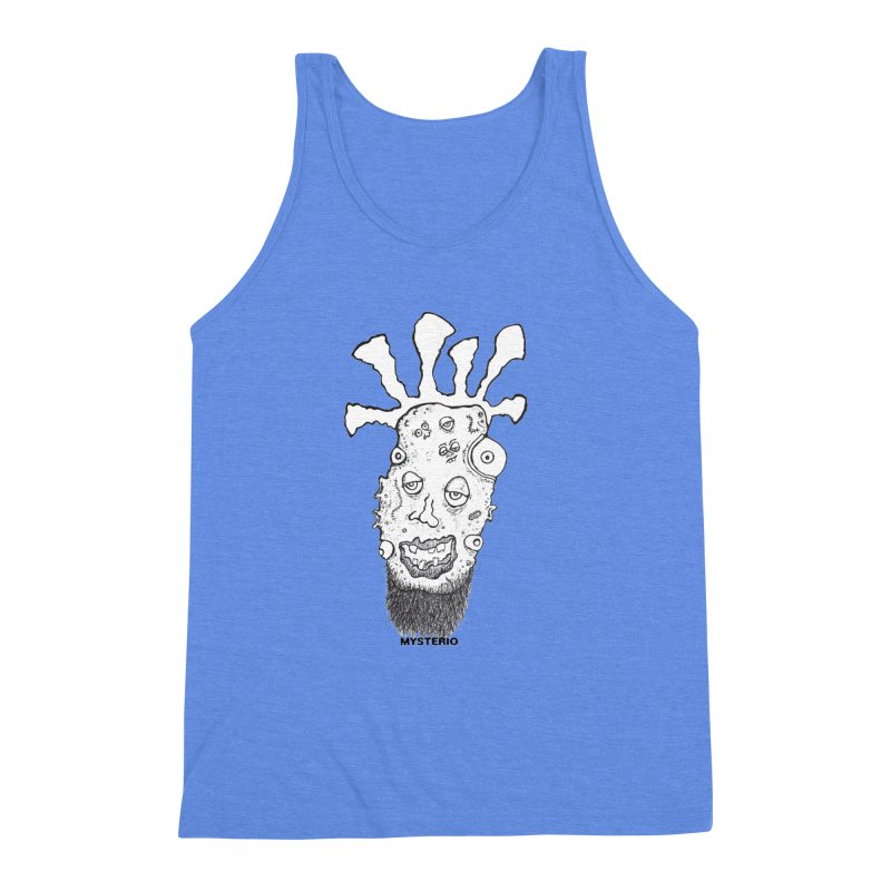Hipster Jimi Men's Triblend Tank by Baston's T-Shirt Emporium!