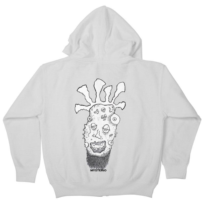 Hipster Jimi Kids Zip-Up Hoody by Baston's T-Shirt Emporium!
