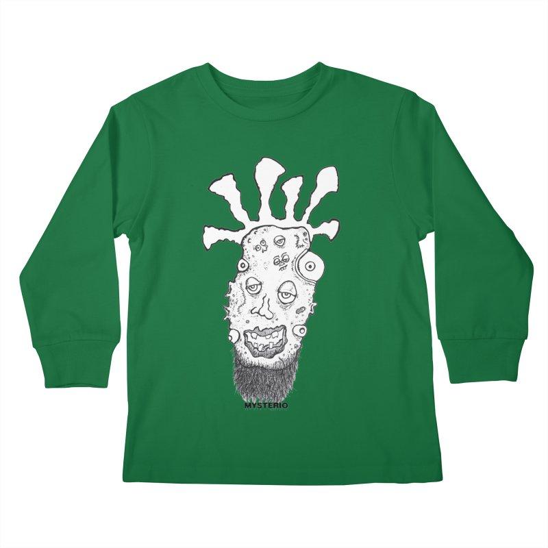 Hipster Jimi Kids Longsleeve T-Shirt by Baston's T-Shirt Emporium!