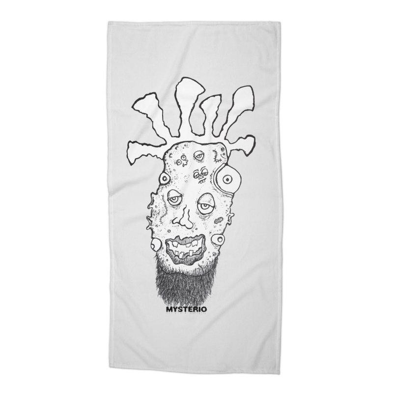 Hipster Jimi Accessories Beach Towel by Baston's T-Shirt Emporium!