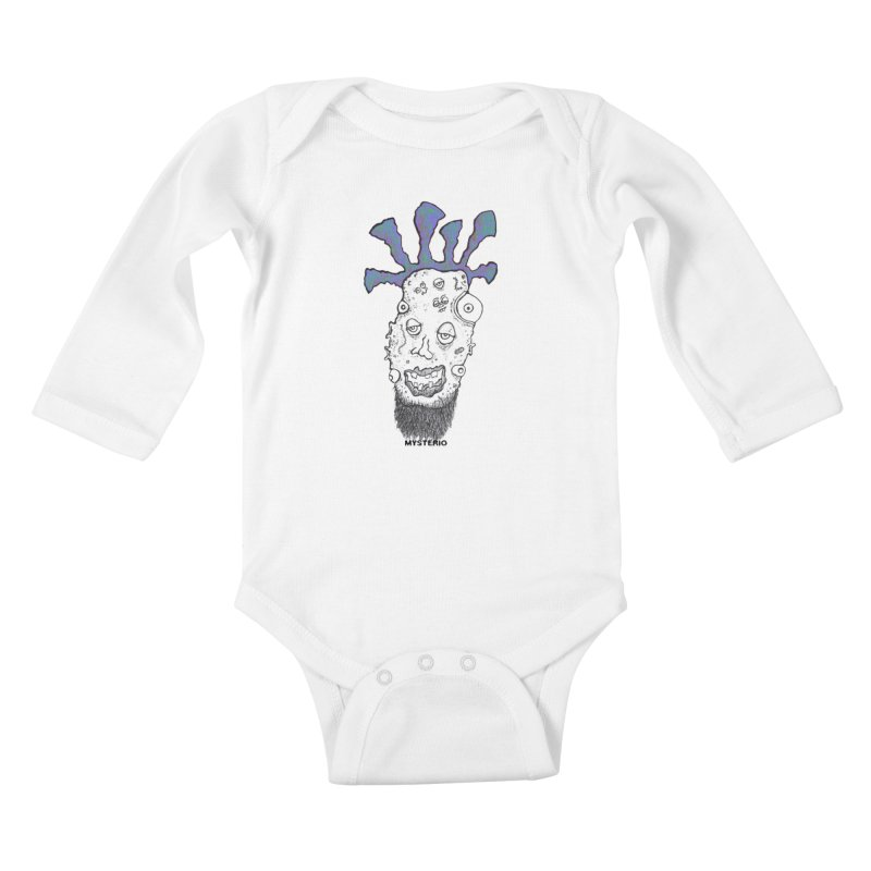 Purple Haze! Kids Baby Longsleeve Bodysuit by Baston's T-Shirt Emporium!