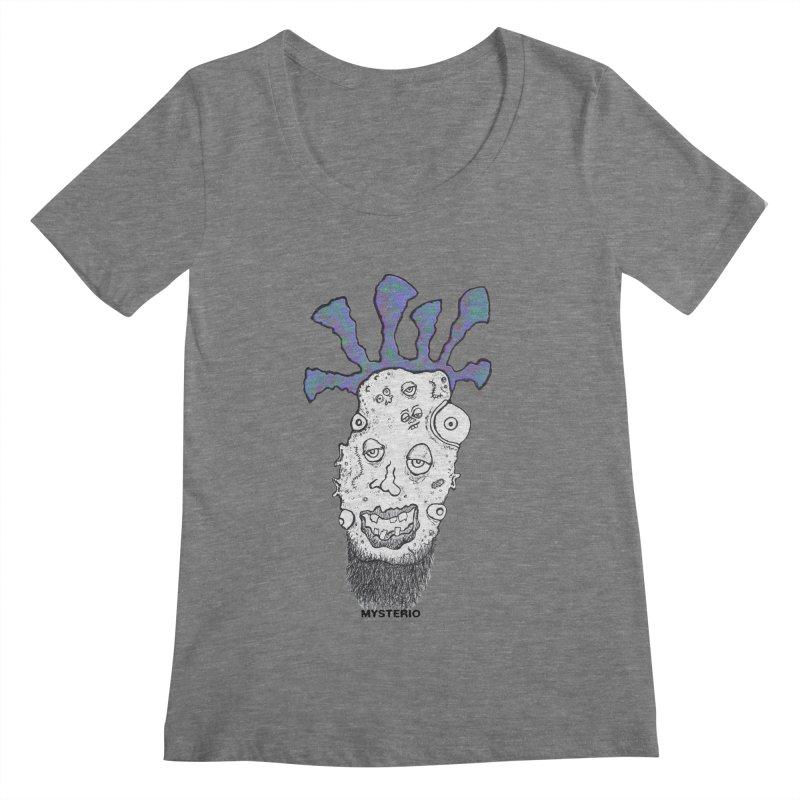 Purple Haze! Women's Scoopneck by Baston's T-Shirt Emporium!