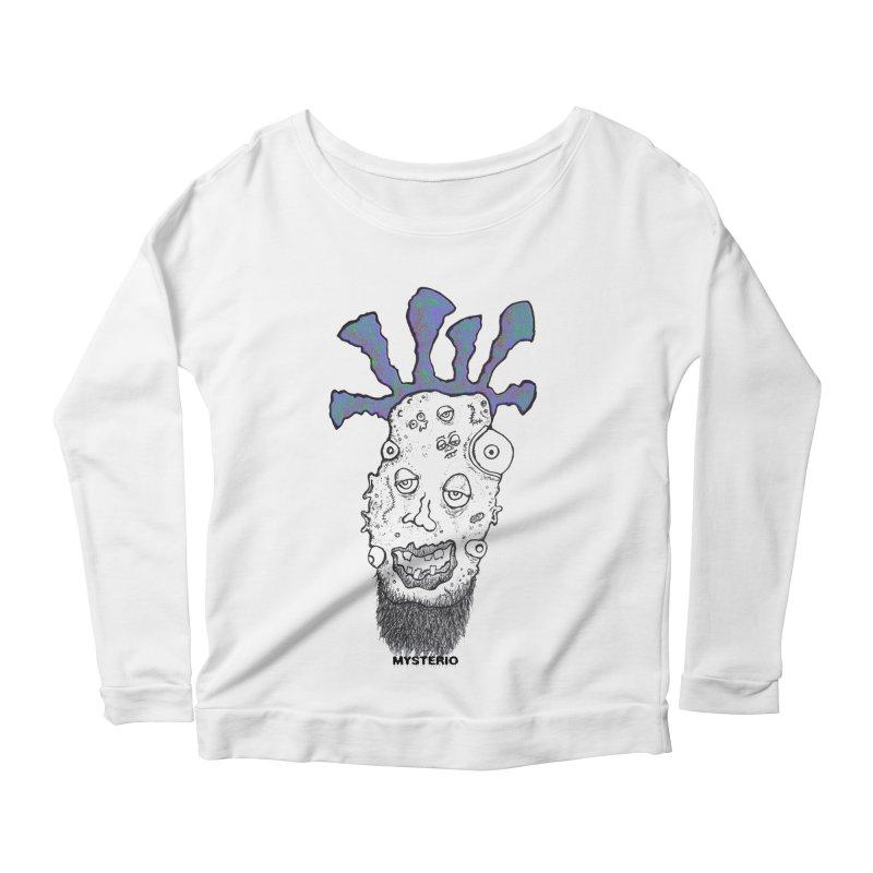Purple Haze! Women's Longsleeve Scoopneck  by Baston's T-Shirt Emporium!
