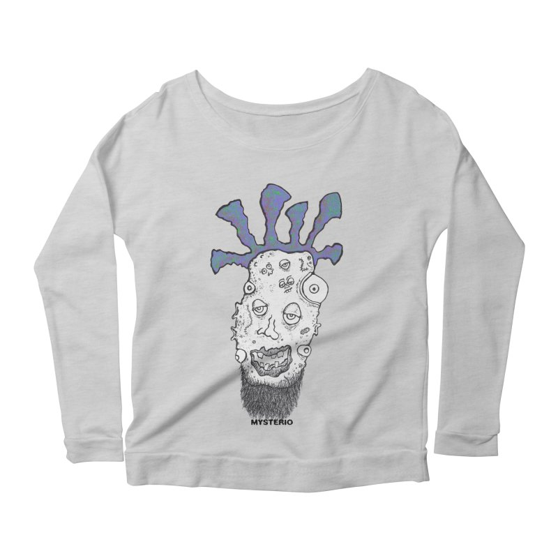 Purple Haze! Women's Longsleeve Scoopneck  by Baston's T-Shirt Emporium!