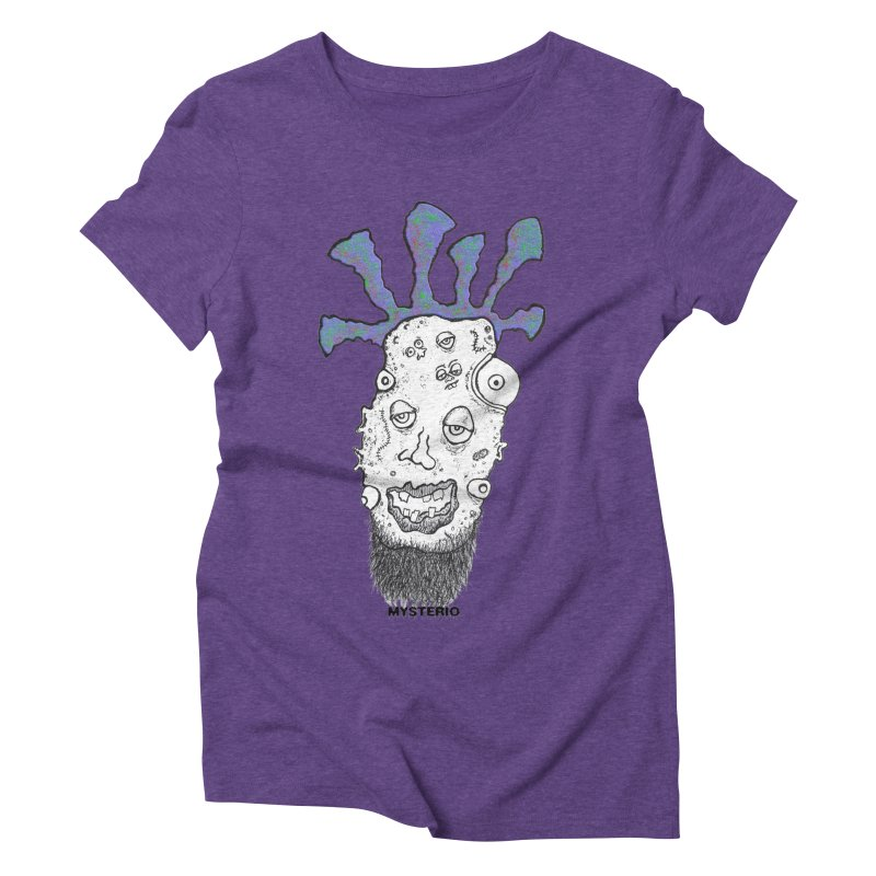 Purple Haze! Women's Triblend T-Shirt by Baston's T-Shirt Emporium!