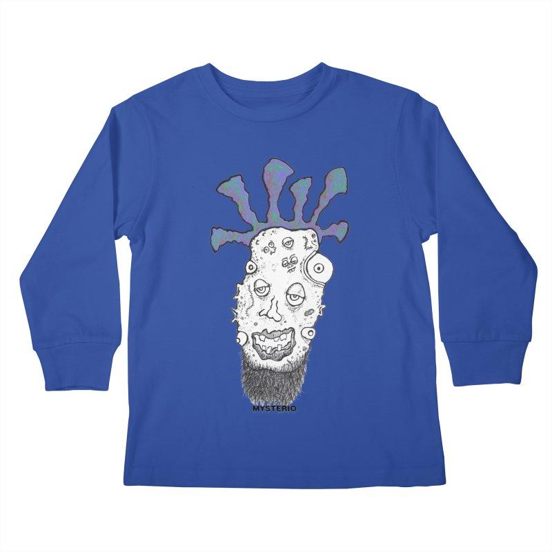 Purple Haze! Kids Longsleeve T-Shirt by Baston's T-Shirt Emporium!