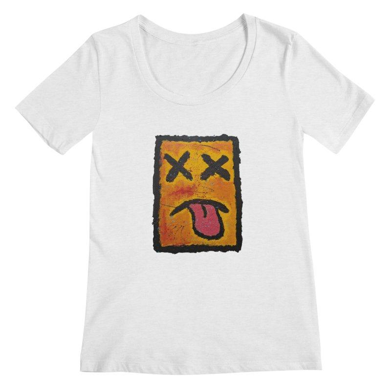 Blotto! Women's Scoopneck by Baston's T-Shirt Emporium!