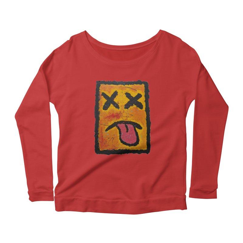 Blotto! Women's Longsleeve Scoopneck  by Baston's T-Shirt Emporium!