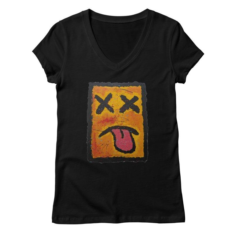 Blotto! Women's V-Neck by Baston's T-Shirt Emporium!