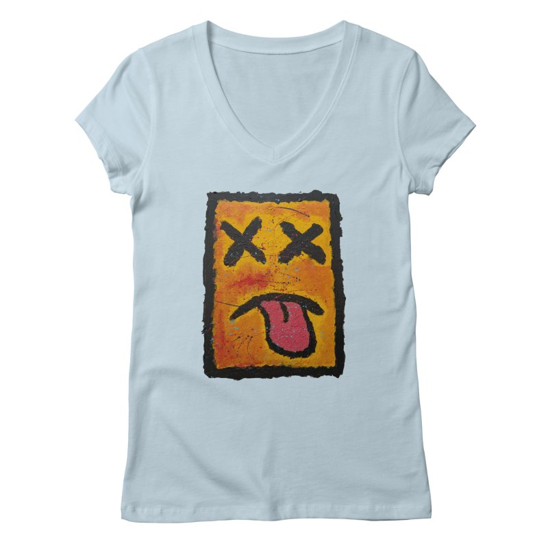 Blotto! Women's Regular V-Neck by Baston's T-Shirt Emporium!