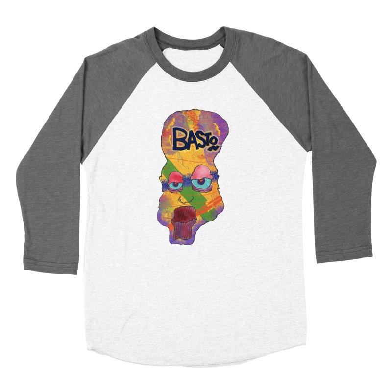 Big Head Men's Baseball Triblend T-Shirt by Baston's T-Shirt Emporium!