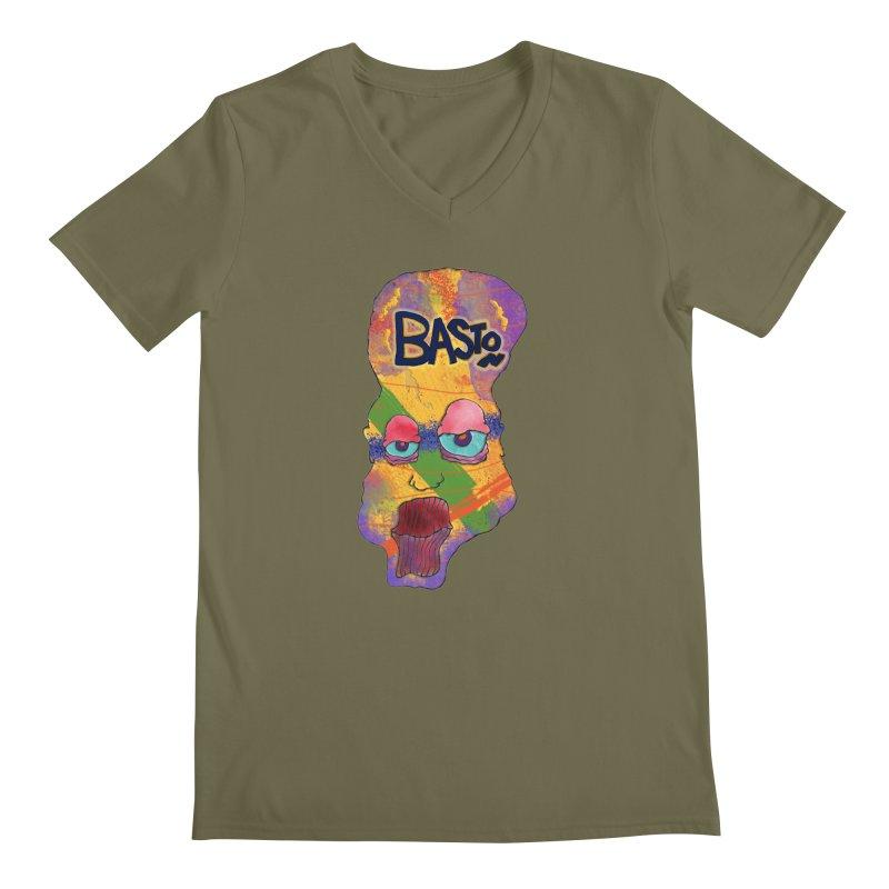Big Head Men's V-Neck by Baston's T-Shirt Emporium!