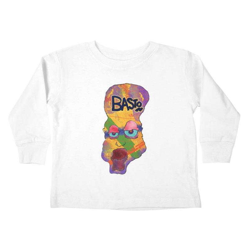 Big Head Kids Toddler Longsleeve T-Shirt by Baston's T-Shirt Emporium!