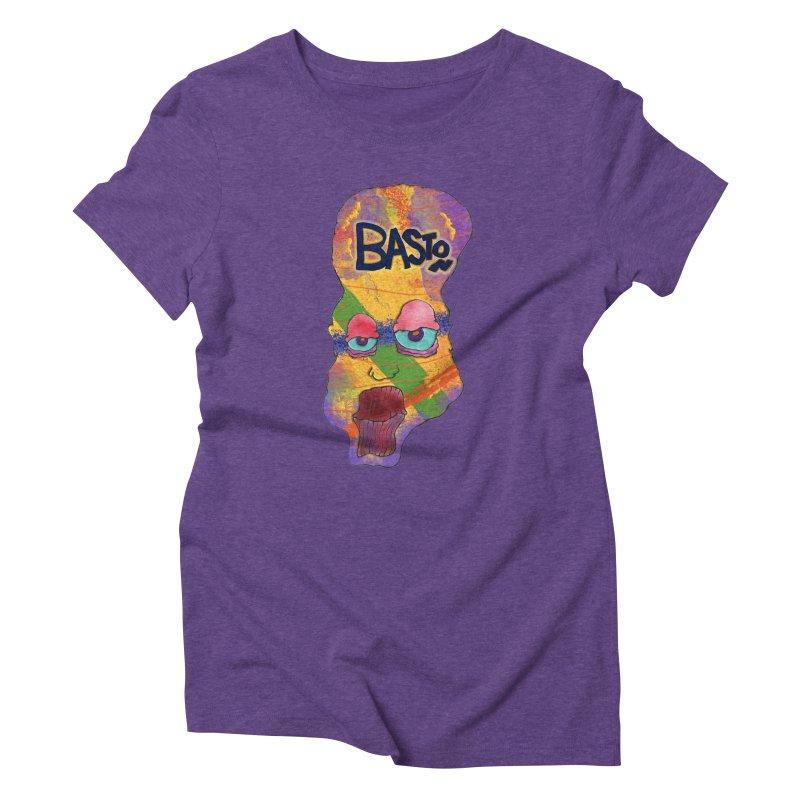 Big Head Women's Triblend T-Shirt by Baston's T-Shirt Emporium!