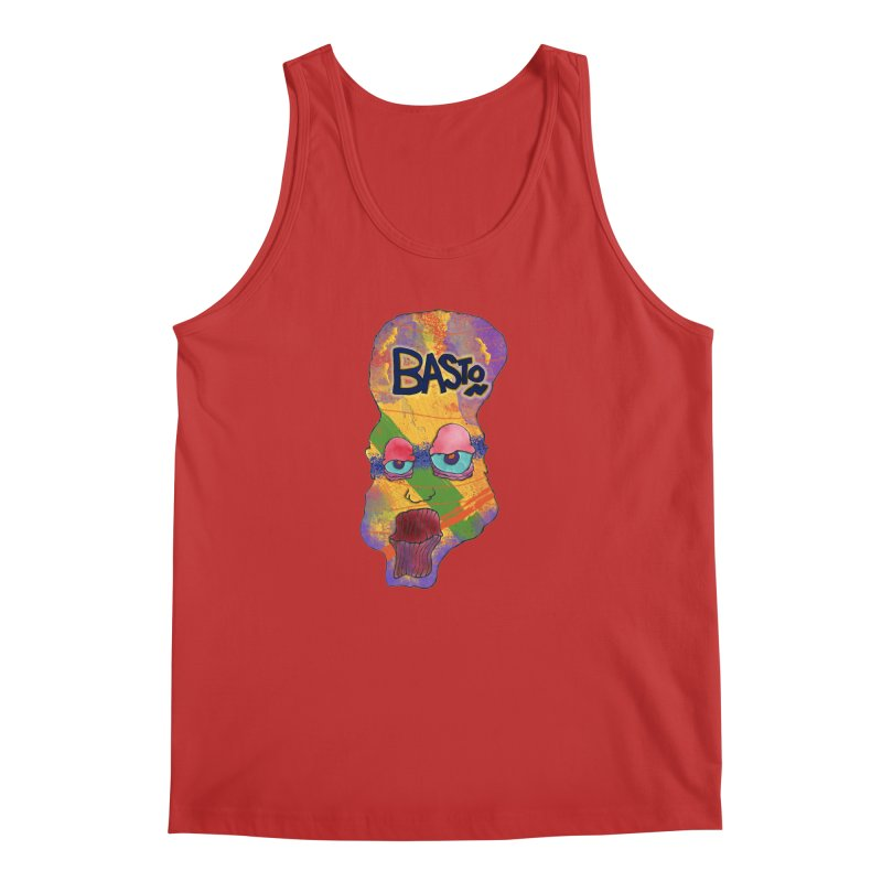 Big Head Men's Tank by Baston's T-Shirt Emporium!