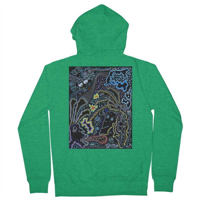 Welcome to the Jungle! Men's Zip-Up Hoody by Baston's T-Shirt Emporium!