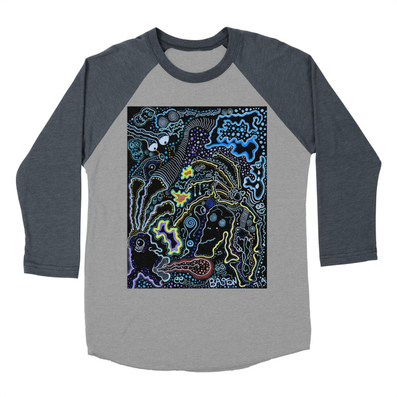 Welcome to the Jungle! Men's Baseball Triblend T-Shirt by Baston's T-Shirt Emporium!