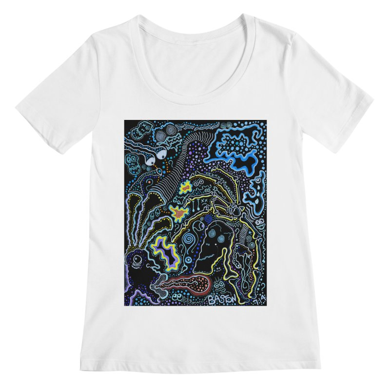 Welcome to the Jungle! Women's Scoopneck by Baston's T-Shirt Emporium!