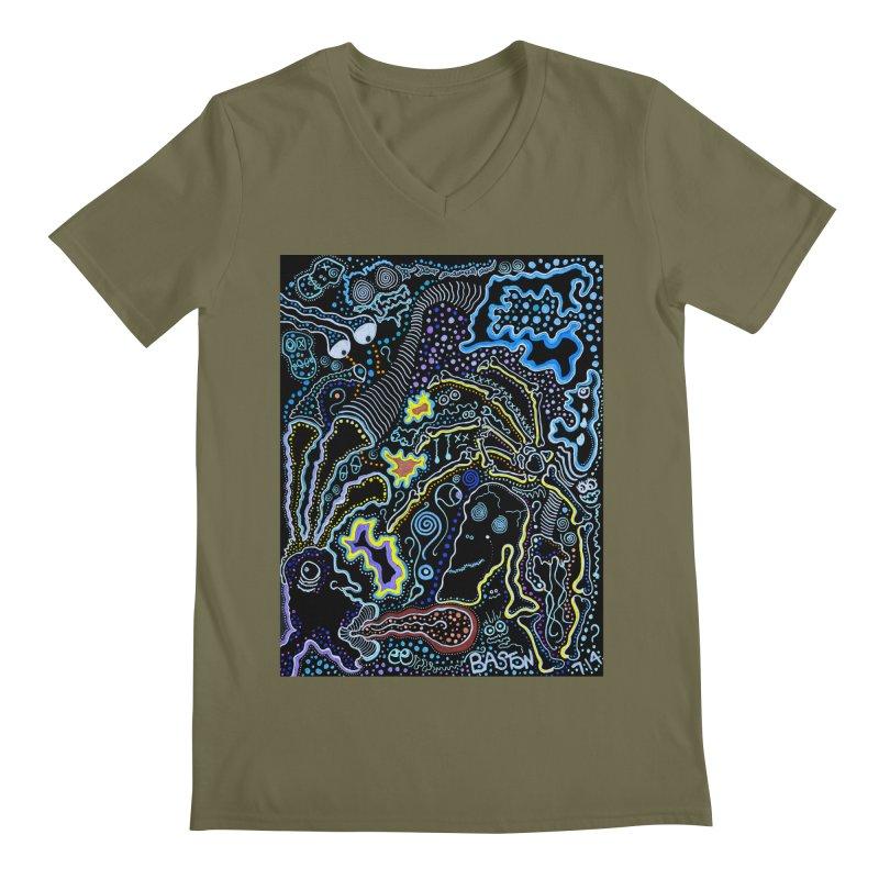 Welcome to the Jungle! Men's V-Neck by Baston's T-Shirt Emporium!