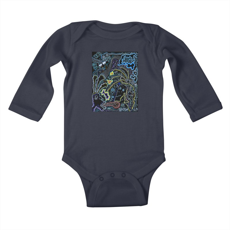 Welcome to the Jungle! Kids Baby Longsleeve Bodysuit by Baston's T-Shirt Emporium!
