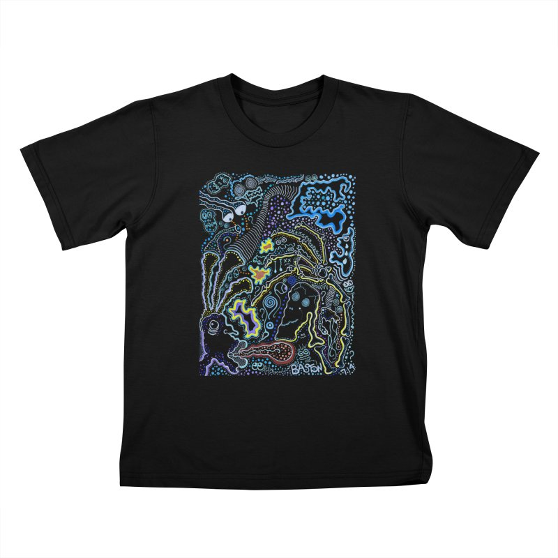 Welcome to the Jungle! Kids T-Shirt by Baston's T-Shirt Emporium!