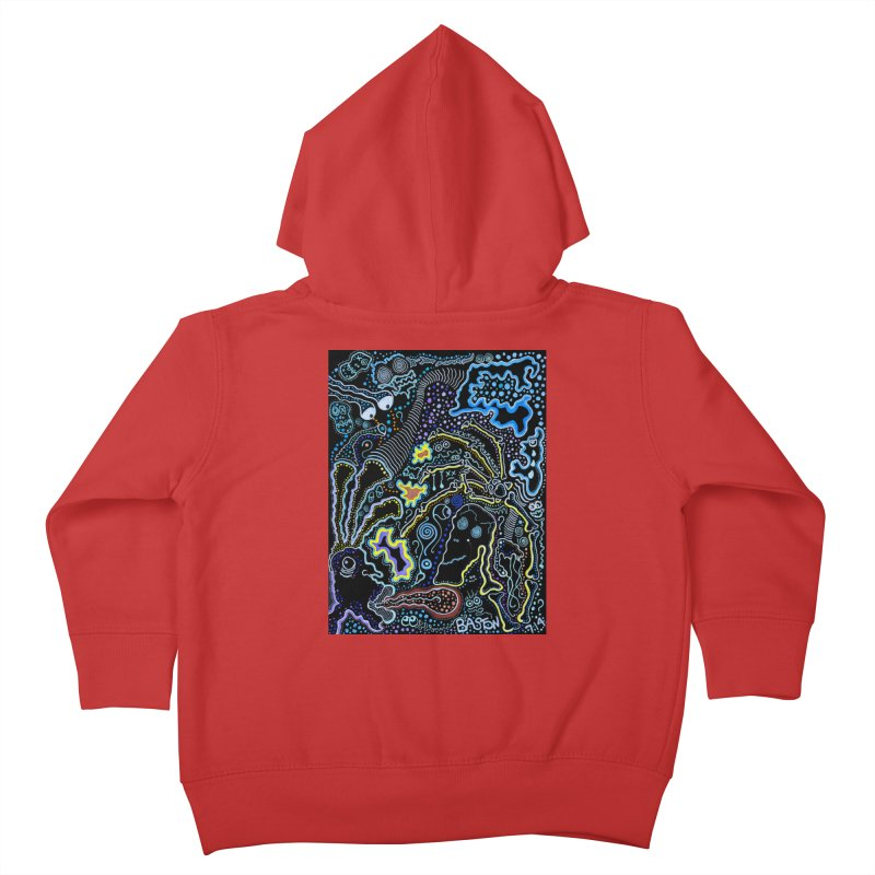 Welcome to the Jungle! Kids Toddler Zip-Up Hoody by Baston's T-Shirt Emporium!