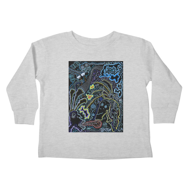 Welcome to the Jungle! Kids Toddler Longsleeve T-Shirt by Baston's T-Shirt Emporium!