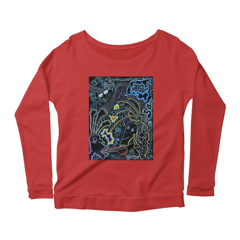 Welcome to the Jungle! Women's Longsleeve Scoopneck  by Baston's T-Shirt Emporium!