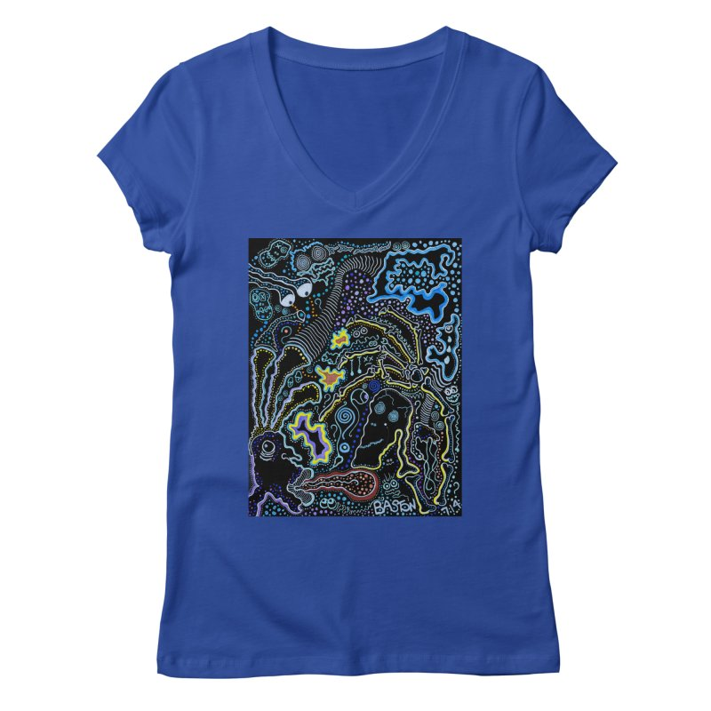 Welcome to the Jungle! Women's V-Neck by Baston's T-Shirt Emporium!