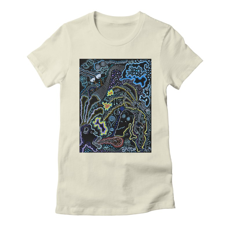 Welcome to the Jungle! Women's Fitted T-Shirt by Baston's T-Shirt Emporium!