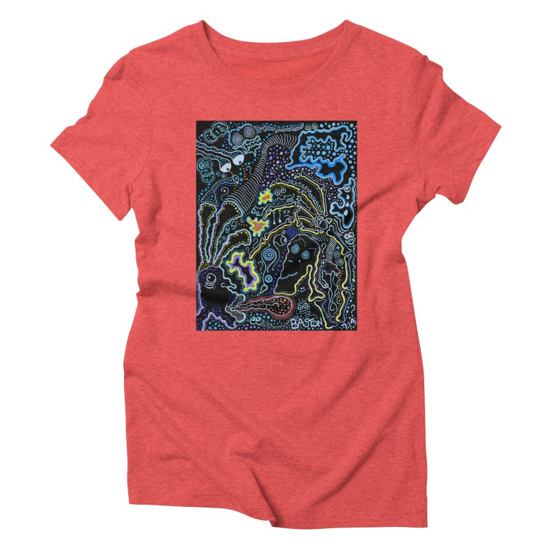 Welcome to the Jungle! Women's Triblend T-Shirt by Baston's T-Shirt Emporium!