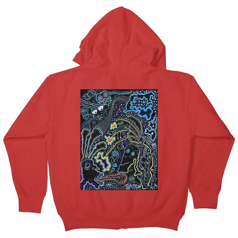 Welcome to the Jungle! Kids Zip-Up Hoody by Baston's T-Shirt Emporium!
