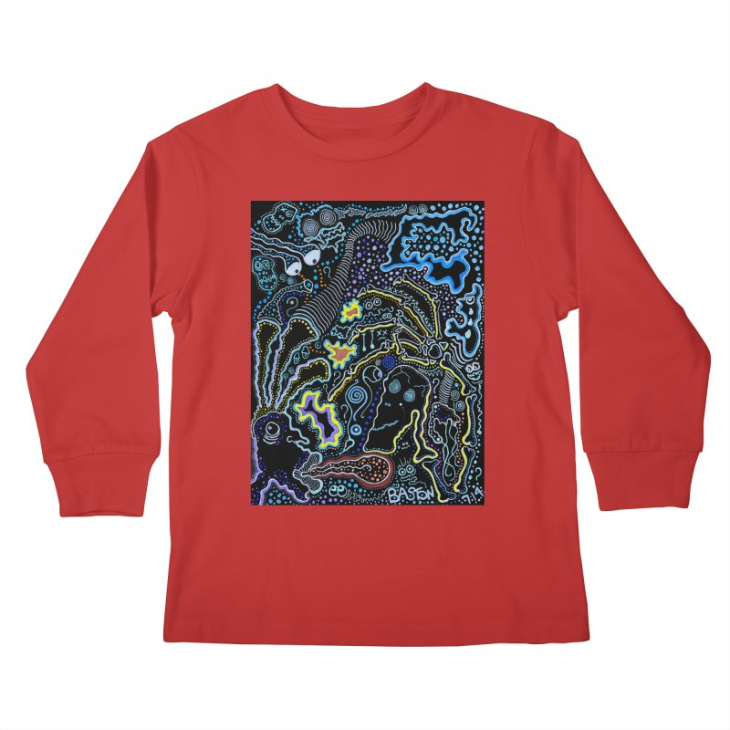 Welcome to the Jungle! Kids Longsleeve T-Shirt by Baston's T-Shirt Emporium!