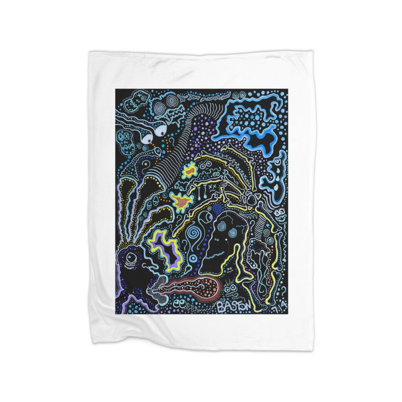 Welcome to the Jungle! Home Blanket by Baston's T-Shirt Emporium!