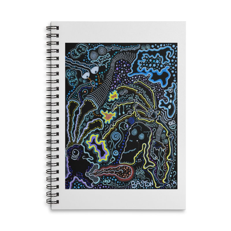Welcome to the Jungle! Accessories Lined Spiral Notebook by Baston's T-Shirt Emporium!