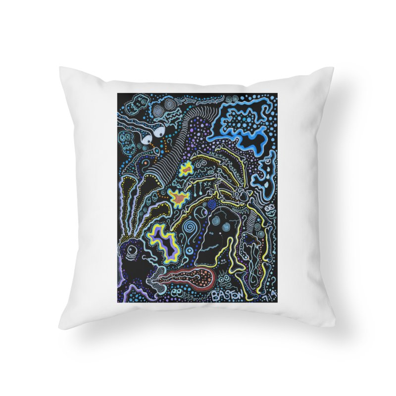 Welcome to the Jungle! Home Throw Pillow by Baston's T-Shirt Emporium!