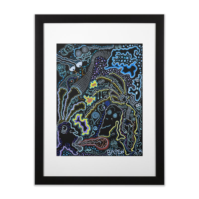 Welcome to the Jungle! Home Framed Fine Art Print by Baston's T-Shirt Emporium!