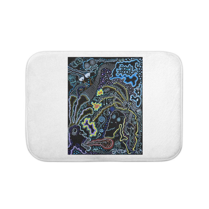 Welcome to the Jungle! Home Bath Mat by Baston's T-Shirt Emporium!
