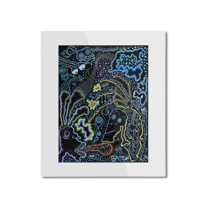 Welcome to the Jungle! Home Mounted Aluminum Print by Baston's T-Shirt Emporium!