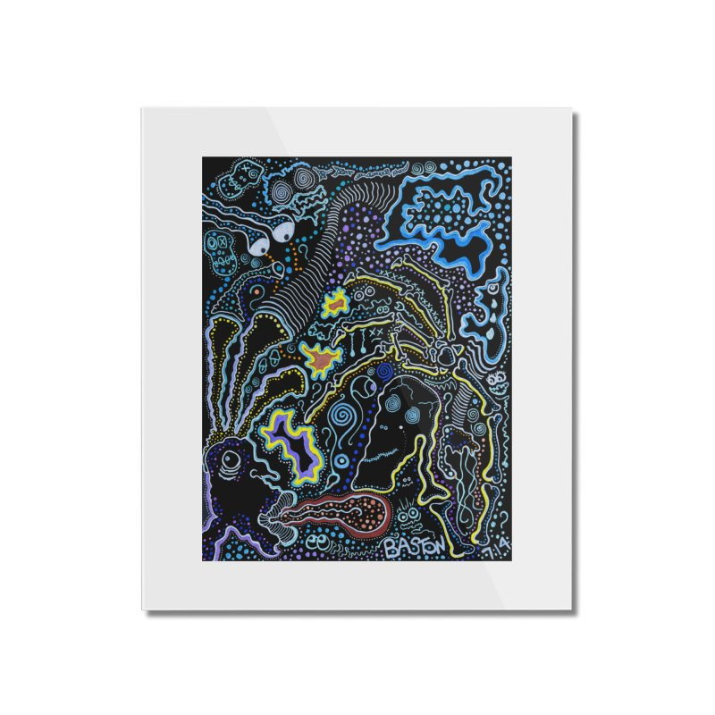 Welcome to the Jungle! Home Mounted Acrylic Print by Baston's T-Shirt Emporium!