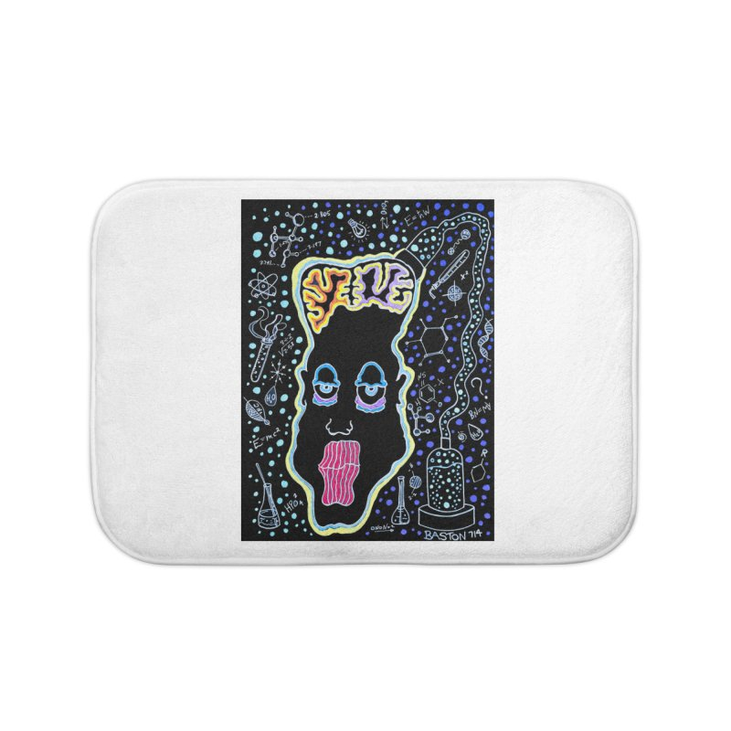 Plugged In Home Bath Mat by Baston's T-Shirt Emporium!