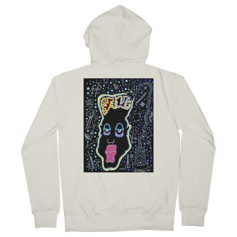 Plugged In Men's French Terry Zip-Up Hoody by Baston's T-Shirt Emporium!