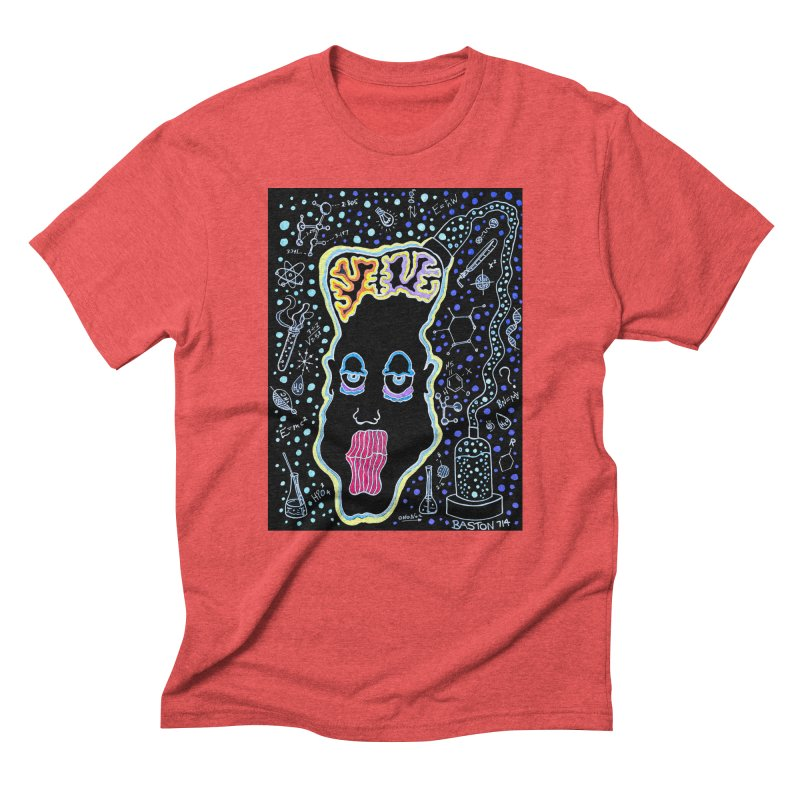Plugged In Men's Triblend T-Shirt by Baston's T-Shirt Emporium!