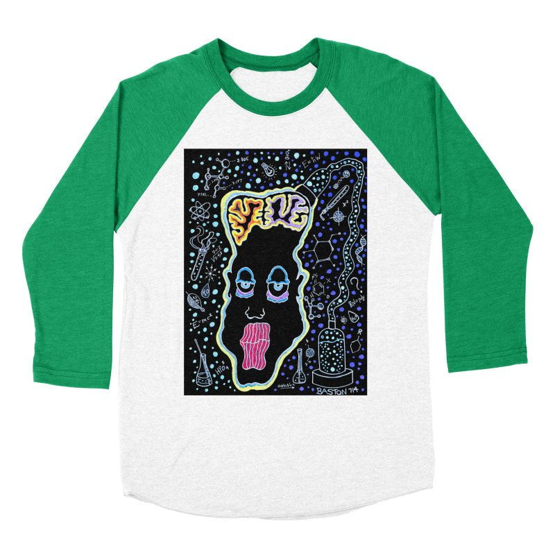 Plugged In Men's Baseball Triblend Longsleeve T-Shirt by Baston's T-Shirt Emporium!
