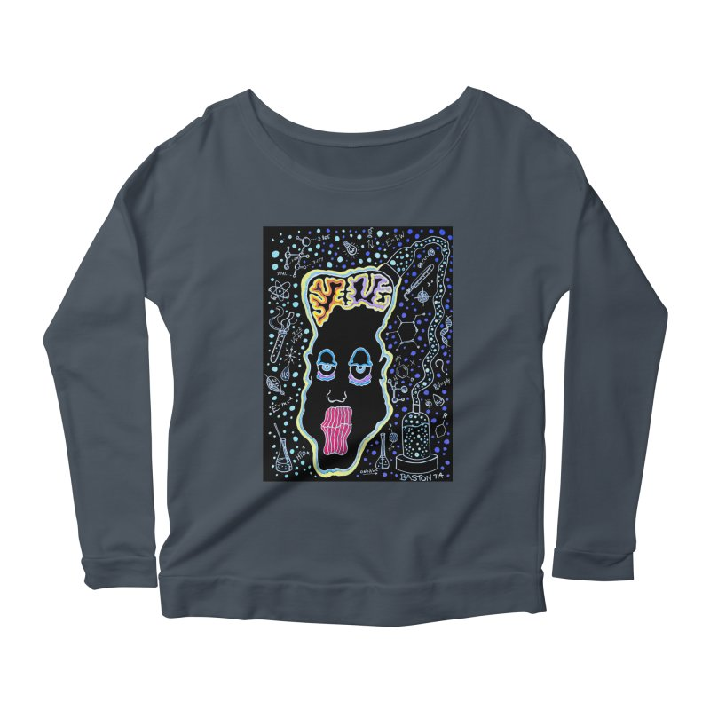 Plugged In Women's Scoop Neck Longsleeve T-Shirt by Baston's T-Shirt Emporium!