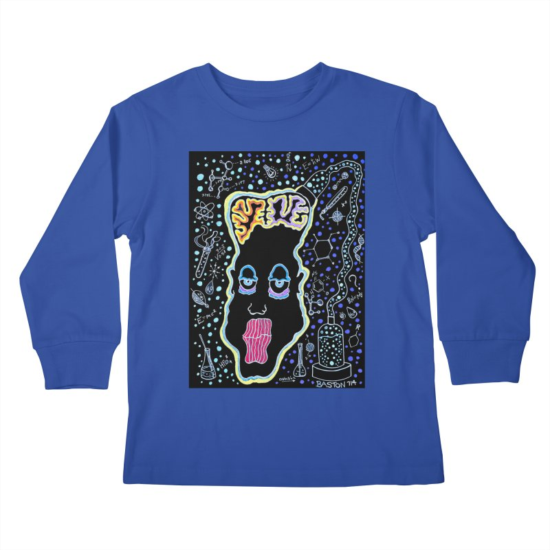 Plugged In Kids Longsleeve T-Shirt by Baston's T-Shirt Emporium!