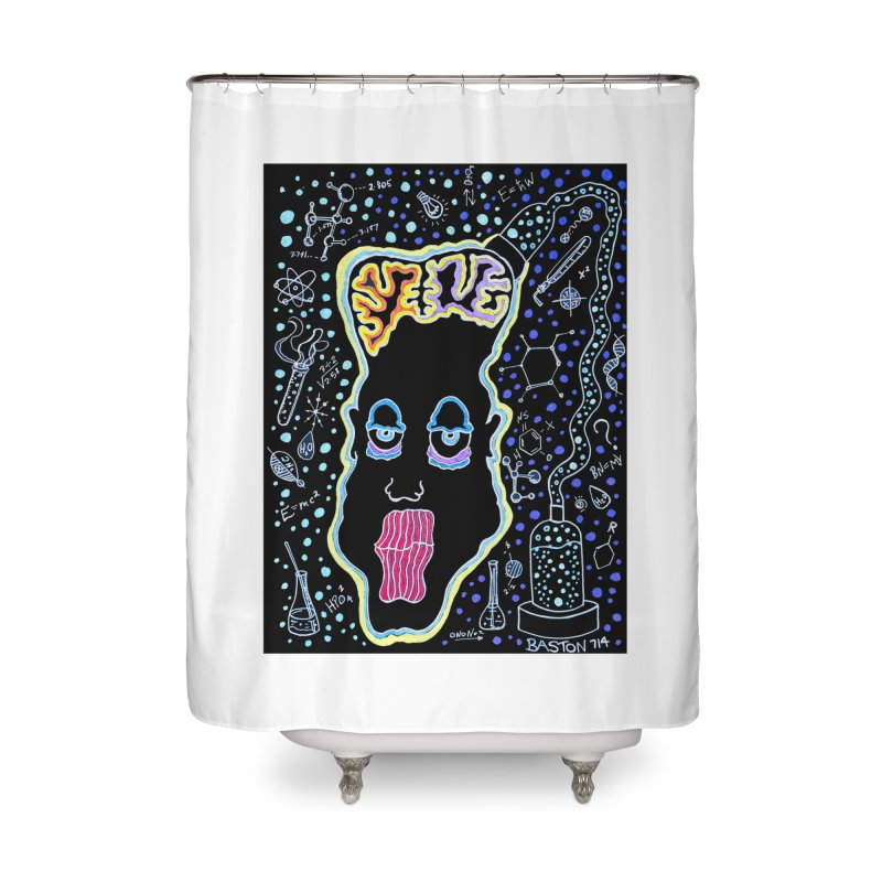 Plugged In Home Shower Curtain by Baston's T-Shirt Emporium!