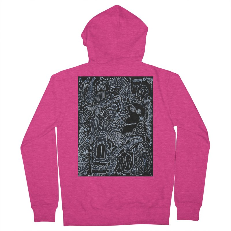 Scarface Women's French Terry Zip-Up Hoody by Baston's T-Shirt Emporium!